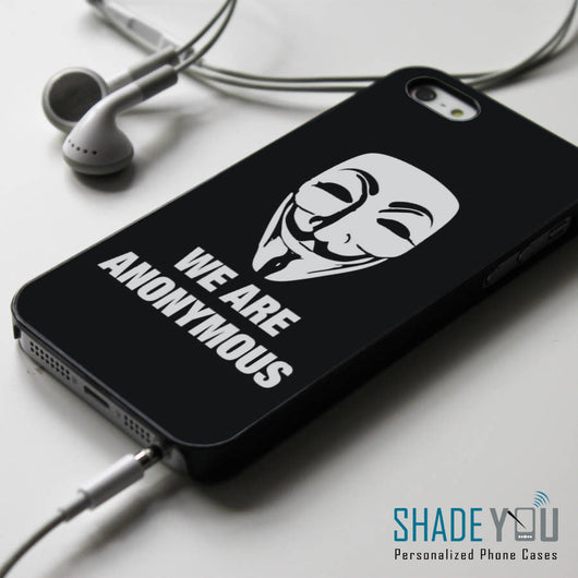 Guy Fawkes Mask Anonymous - iPhone 4/4S, iPhone 5/5S/5C, iPhone 6 Case, Samsung Galaxy S4/S5/S6 Edge Cases
