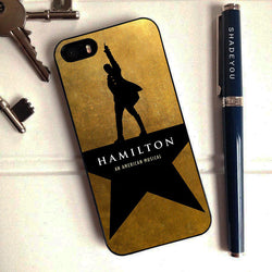 Hamilton Broadway Musical - iPhone 6/6S Case, iPhone 5/5S Case, iPhone 5C Case plus Samsung Galaxy S4 S5 S6 Edge Cases