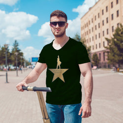 Hamilton Gold Star Broadway Musical tshirt