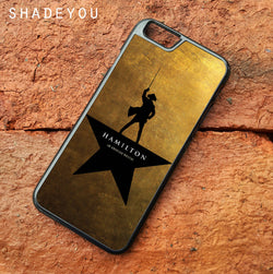 Hamilton Musical George Washington - iPhone 7 Case, iPhone 6/6S Plus, iPhone 5 5S SE, Nexus, HTC M9, LG G5, Samsung Galaxy S5 S6 S7 Edge Cases