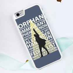 Hamilton Musical Quotes - iPhone 6/6S Case, iPhone 6/6S Plus Case, iPhone 5/5S SE Case plus Samsung Galaxy S5 S6 S7 Edge Cases