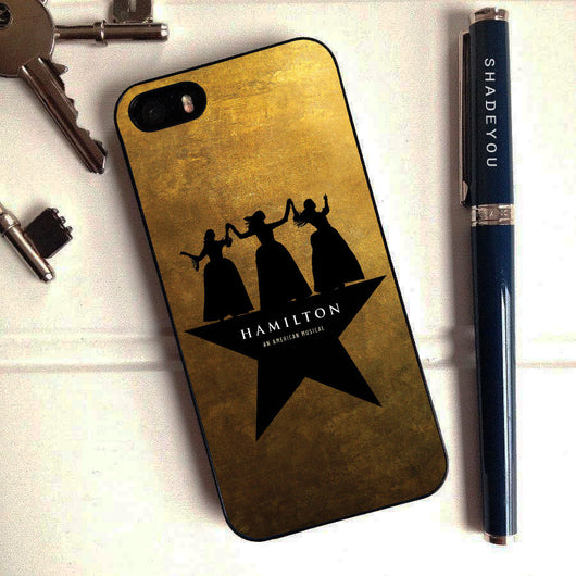 Hamilton Schuyler Sisters Musical - iPhone 7 Case, iPhone 6/6S Plus, iPhone 5 5S SE, Nexus, HTC M9, LG G5, Samsung Galaxy S5 S6 S7 Edge Cases