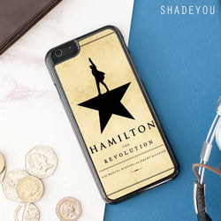 Hamilton The Revolution iphone cases
