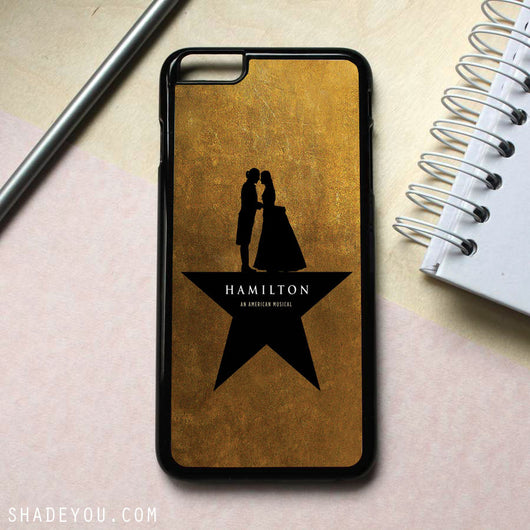 Hamilton an American Musical 2 - iPhone 7 Case, iPhone 6/6S Plus, iPhone 5 5S SE, Nexus, HTC M9, LG G5, Samsung Galaxy S5 S6 S7 Edge Cases