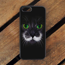 Hamilton the Hipster Cat - iPhone 6/6S Case, iPhone 6/6S Plus, iPhone 5 5S SE, Nexus, HTC M9, LG G5, Samsung Galaxy S5 S6 S7 Edge Cases