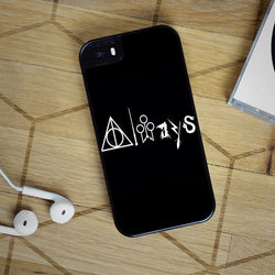 Harry Potter Always - iPhone 6 Case, iPhone 5S Case, iPhone 5C Case + Samsung Galaxy S4 S5 S6 Edge Cases | Free Shipping