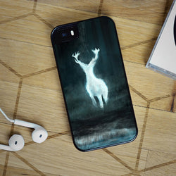 Harry Potter Patronus Charm Deer - iPhone 6 Case, iPhone 5S Case, iPhone 5C Case plus Samsung Galaxy S4 S5 S6 Edge Cases