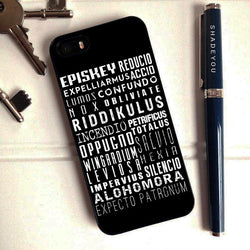 Harry Potter Spells 5 - iPhone 6 Case, iPhone 5S Case, iPhone 5C Case plus Samsung Galaxy S4 S5 S6 Edge Cases