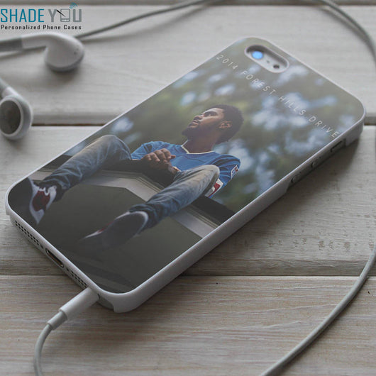 J Cole 2014 Forest Hills Drive - iPhone 4/4S, iPhone 5/5S/5C, iPhone 6 Case, Samsung Galaxy S4/S5 Cases