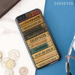 James Bond Books Library iphone cases