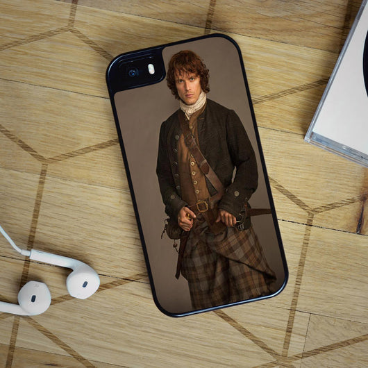 Jamie Fraser Outlander Starz - iPhone 6S, iPhone 5 5S 5C, iPhone 6 Case, plus Samsung Galaxy S4 S5 S6 Edge Cases