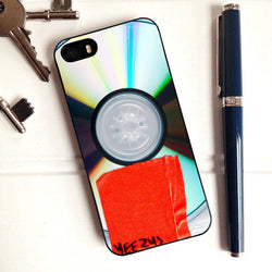 Kanye West Disk Yeezus - iPhone 6 Case, iPhone 5C Case, iPhone 5S Case, plus Samsung Galaxy S4 S5 S6 Edge Cases