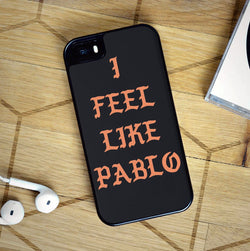 Kanye West I Feel Like Pablo Black - iPhone 7 Case, iPhone 6/6S Plus, iPhone 5 5S SE, Nexus, HTC M9, LG G5, Samsung Galaxy S5 S6 S7 Edge Cases