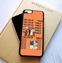 Kanye West The Life of Pablo - iPhone 6/6S Case, iPhone 6/6S Plus Case, iPhone 5/5S SE Case plus Samsung Galaxy S5 S6 S7 Edge Cases