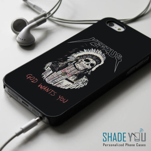Kanye West Yeezus - iPhone 4/4S, iPhone 5/5S/5C, iPhone 6 Case, Samsung Galaxy S4/S5 Cases