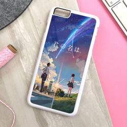 Kimi no Na wa Your Name Anime - iPhone 7 Case, iPhone 6/6S Plus, iPhone 5 5S SE, Nexus, HTC M9, LG G5, Samsung Galaxy S5 S6 S7 Edge Cases
