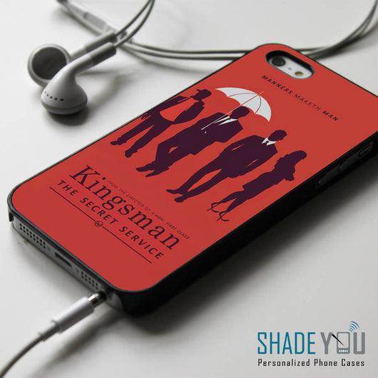 Kingsman the Secret Service - iPhone 4/4S, iPhone 5/5S/5C, iPhone 6 Case, Samsung Galaxy S4/S5 Cases