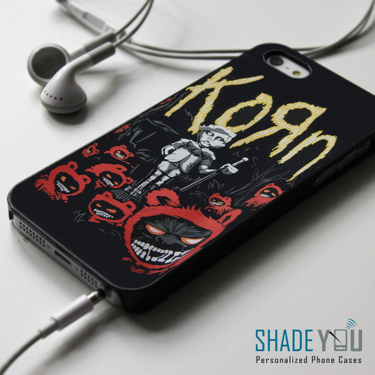 Korn - iPhone 4/4S, iPhone 5/5S/5C, iPhone 6 Case, Samsung Galaxy S4/S5/S6 Edge Cases