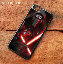 Kylo Ren Star Wars - iPhone 7 Case, iPhone 6/6S Plus, iPhone 5 5S SE, Nexus, HTC M9, LG G5, Samsung Galaxy S5 S6 S7 Edge Cases