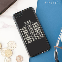 Logic 1-800-273-8255 iphone case