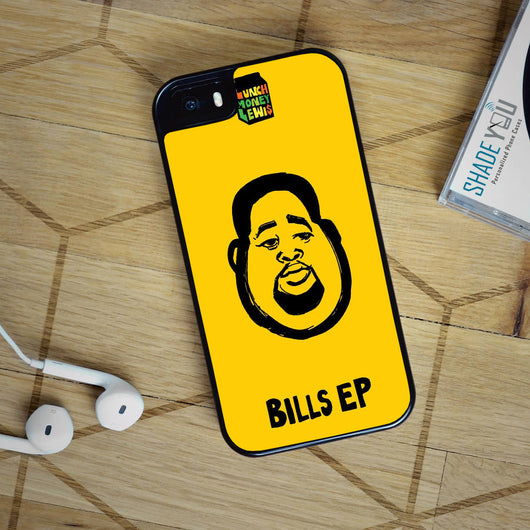 Lunch Money Lewis Bills - iPhone 4/4S, iPhone 5/5S/5C, iPhone 6 Case, plus Samsung Galaxy S4/S5/S6 Edge Cases