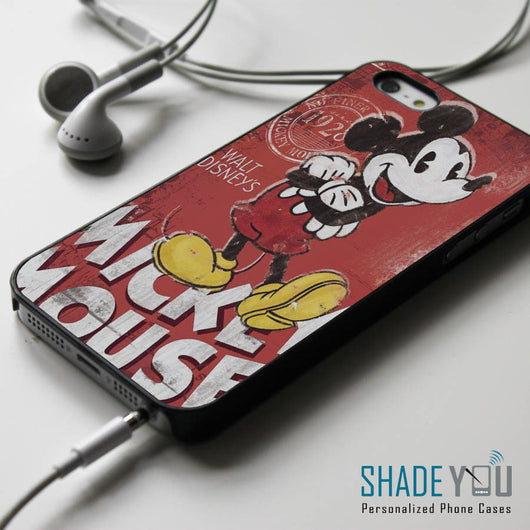 Mickey Mouse - iPhone 4/4S, iPhone 5/5S/5C, iPhone 6 Case, Samsung Galaxy S4/S5 Cases