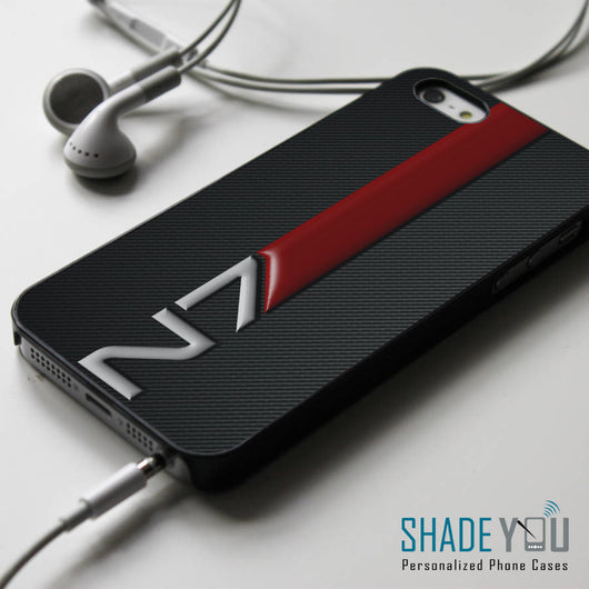 N7 Mass Effect Armor - iPhone 4/4S, iPhone 5/5S/5C, iPhone 6 Case, Samsung Galaxy S4/S5 Cases