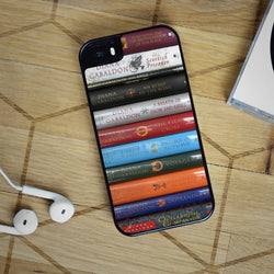 Outlander Books Series - iPhone 6 Case, iPhone 5S Case, iPhone 5C Case plus Samsung Galaxy S4 S5 S6 Edge Cases