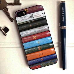 Outlander Books Collection 2 - iPhone 6 Case, iPhone 5S Case, iPhone 5C Case plus Samsung Galaxy S4 S5 S6 Edge Cases