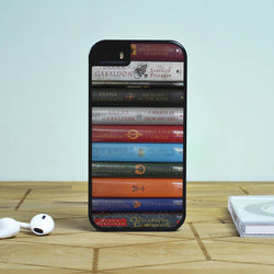 Outlander Books Library Collection - iPhone 6 Case, iPhone 5S Case, iPhone 5C Case plus Samsung Galaxy S4 S5 S6 Edge Cases