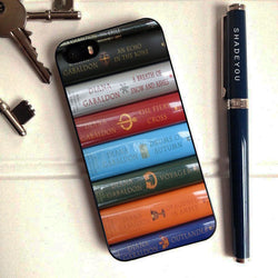 Outlander Starz Book Series - iPhone 6 Case, iPhone 5S Case, iPhone 5C Case plus Samsung Galaxy S4 S5 S6 Edge Cases