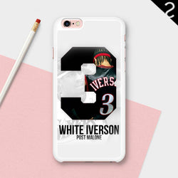 Post Malone White Iverson iphone cases