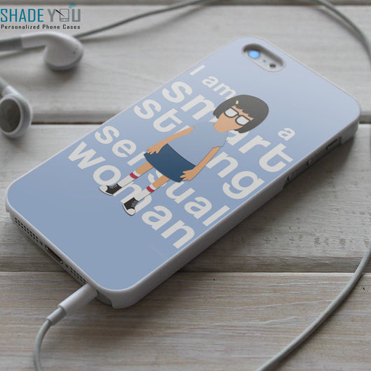 Smart Strong Sensual Tina Belcher - iPhone 4/4S, iPhone 5/5S/5C, iPhone 6 Case, Samsung Galaxy S4/S5 Cases