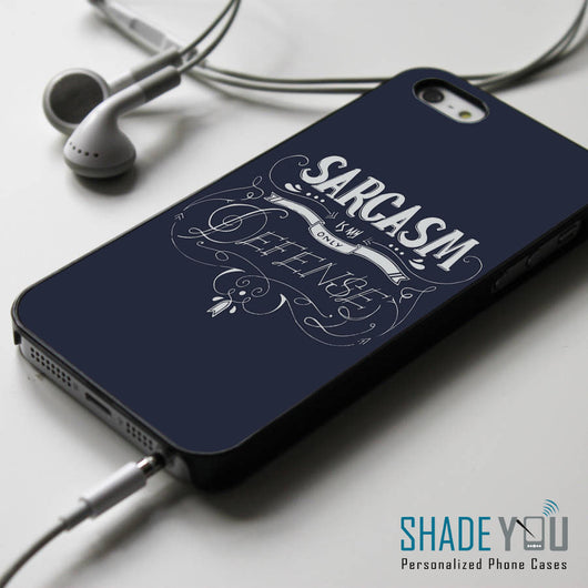 Sarcasm is My Only Defense Stiles Stilinski Quotes - iPhone 4/4S, iPhone 5/5S/5C, iPhone 6 Case, Samsung Galaxy S4/S5 Cases