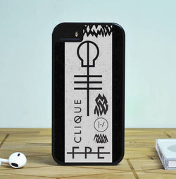 Stressed Out Symbol of Twenty One Pilots - iPhone 6 Case, iPhone 5S Case, iPhone 5C Case plus Samsung Galaxy S4 S5 S6 Edge Cases