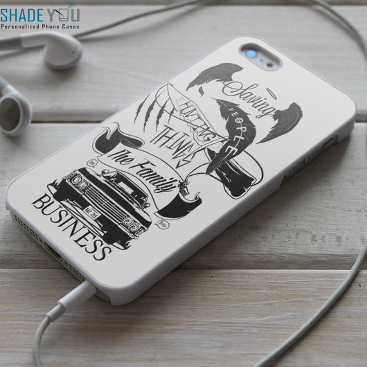 Supernatural The Family Business 3 - iPhone 4/4S, iPhone 5/5S, iPhone 5C Case, Samsung Galaxy S4/S5 Cases