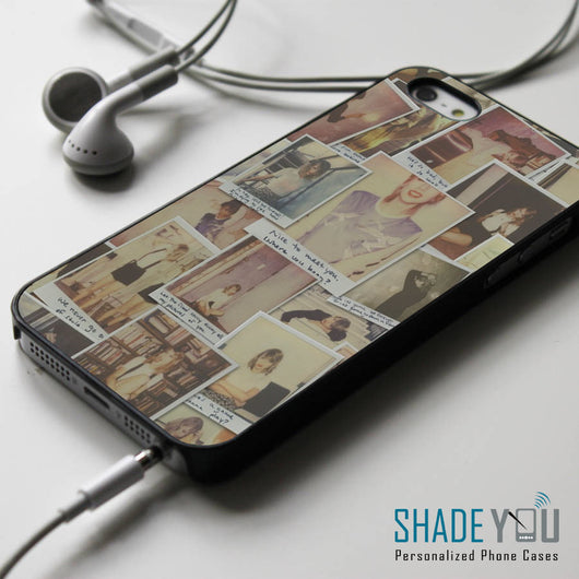 Taylor Swift 1989 Polaroid - iPhone 4/4S, iPhone 5/5S/5C, iPhone 6 Case, Samsung Galaxy S4/S5 Cases