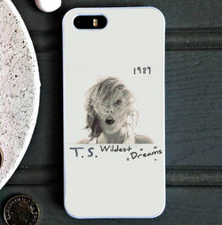 Taylor Swift 1989 Wildest Dreams - iPhone 6/6S Case, iPhone 5/5S Case, iPhone 5C Case plus Samsung Galaxy S4 S5 S6 Edge Cases