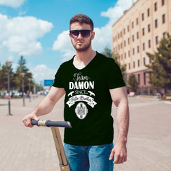 Team Damon Since Hello Brother The Vampire Diaries tshirt