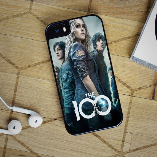 The 100 Clarke and Bellamy - iPhone 4, iPhone 5 5S 5C, iPhone 6 Case, plus Samsung Galaxy S4 S5 S6 Edge Cases