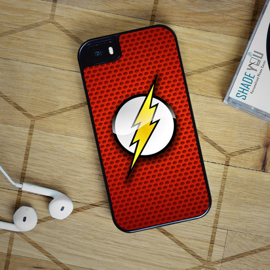 The Flash - iPhone 4/4S, iPhone 5/5S/5C, iPhone 6 Case, plus Samsung Galaxy S4/S5/S6 Edge Cases