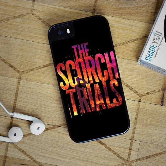 The Scorch Trials - The Maze Runner iPhone 4/4S, iPhone 5/5S/5C, iPhone 6 Case, Samsung Galaxy S4/S5/S6 Edge Cases