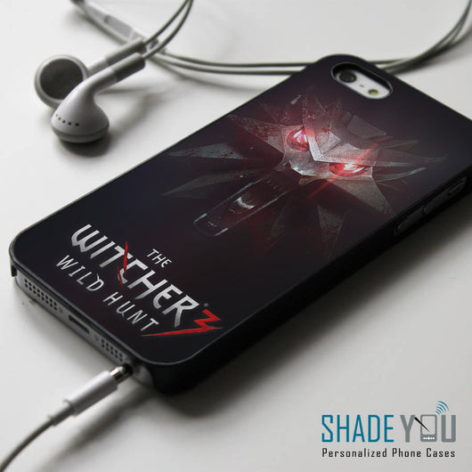 The Witcher 3 Medallion - iPhone 4/4S, iPhone 5/5S/5C, iPhone 6 Case, Samsung Galaxy S4/S5 Cases