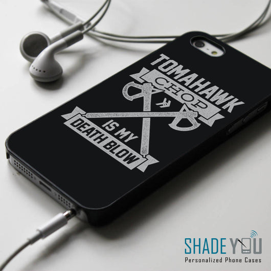 Tomahawk Chop is My Deathblow - Smosh iPhone 4/4S, iPhone 5/5S/5C, iPhone 6 Case, Samsung Galaxy S4/S5 Cases