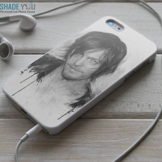 Daryl Dixon TWD - iPhone 4/4S, iPhone 5/5S/5C, iPhone 6 Case, Samsung Galaxy S4/S5 Cases