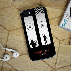 Twenty One Pilots Blurryface 21 - iPhone 6/6S Case, iPhone 6/6S Plus, iPhone 5 5S SE, Nexus, HTC M9, LG G5, Samsung Galaxy S5 S6 S7 Edge Cases