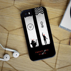 Twenty One Pilots Blurryface 21 - iPhone 4, iPhone 5 5S 5C, iPhone 6 Case, plus Samsung Galaxy S4 S5 S6 Edge Cases