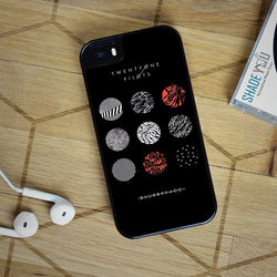 Twenty One Pilots Blurryface - iPhone 4/4S, iPhone 5/5S/5C, iPhone 6 Case, plus Samsung Galaxy S4/S5/S6 Edge Cases