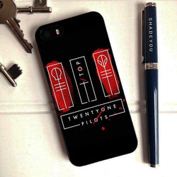 Twenty One Pilots Clique - iPhone 6/6S Case, iPhone 5/5S Case, iPhone 5C Case plus Samsung Galaxy S4 S5 S6 Edge Cases