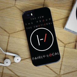 Twenty One Pilots Fairly Local - iPhone 6 Case, iPhone 5C Case, iPhone 5S Case, plus Samsung Galaxy S4 S5 S6 Edge Cases